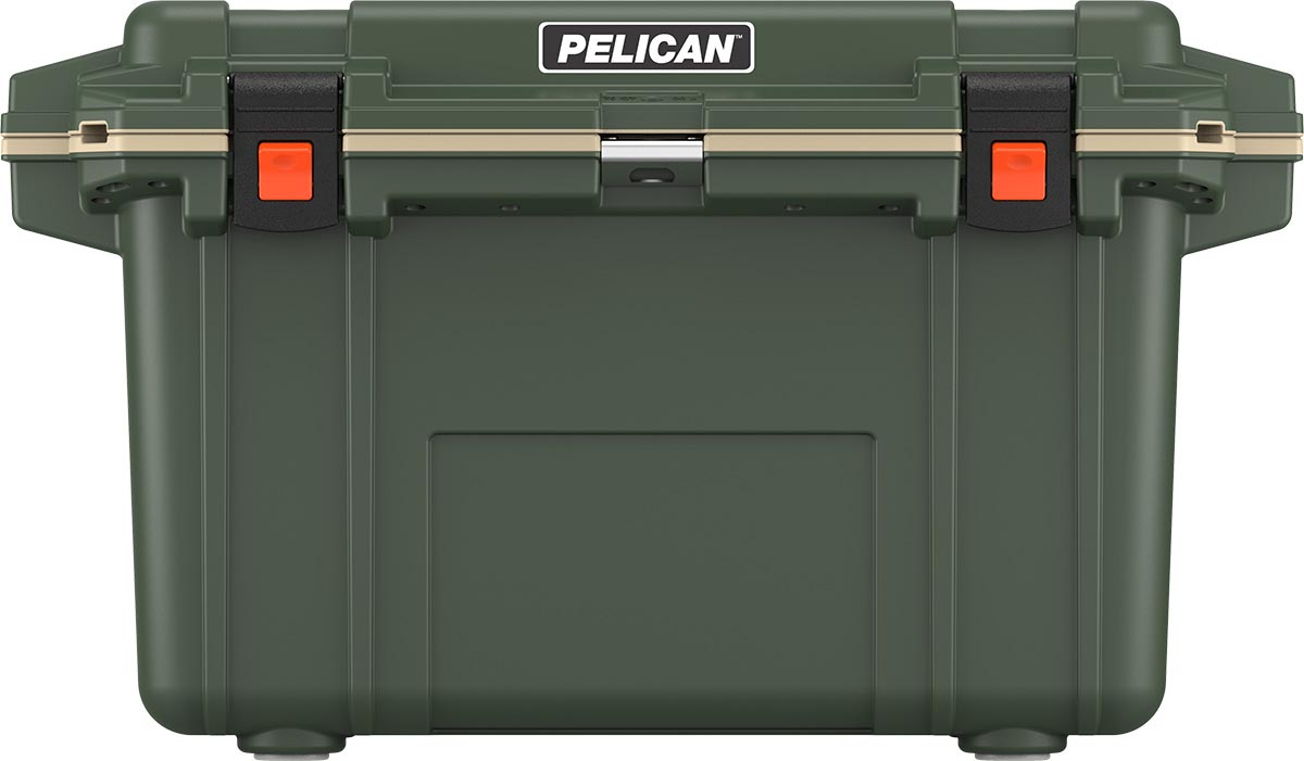 shop pelican 70qt buy hunting cooler od green
