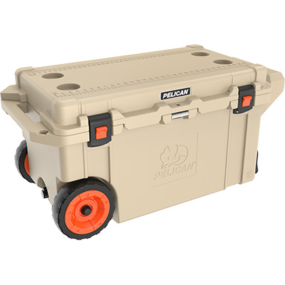 buy pelican 80qt shop best rolling camping cooler