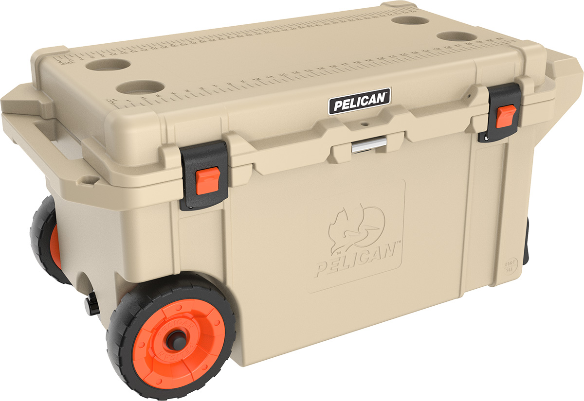 pelican peli products 80QT camping best camping rolling usa cooler