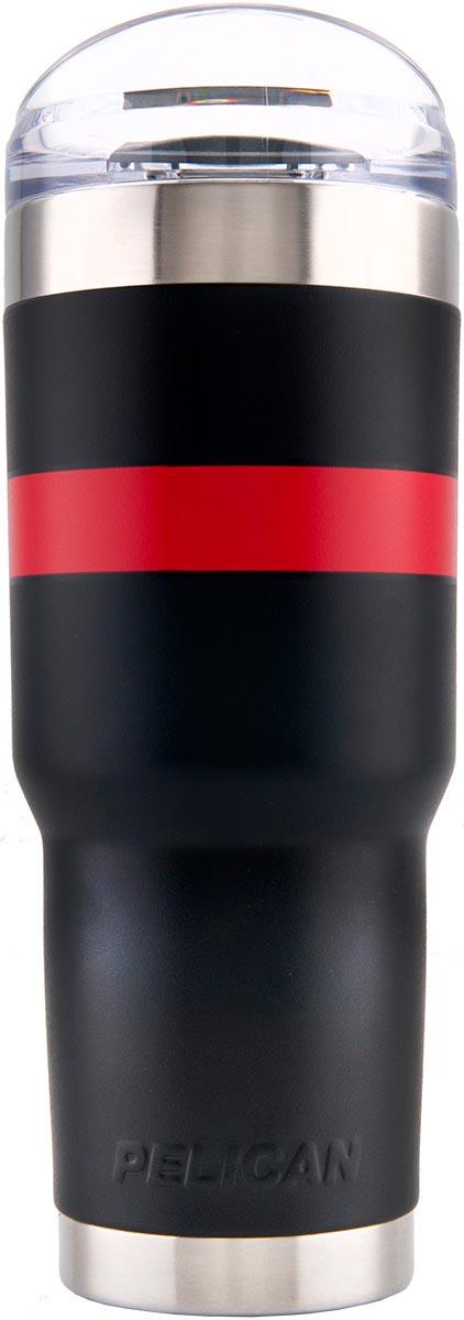 buy pelican tumbler sd32 shop drinkware 32 oz red fire strip