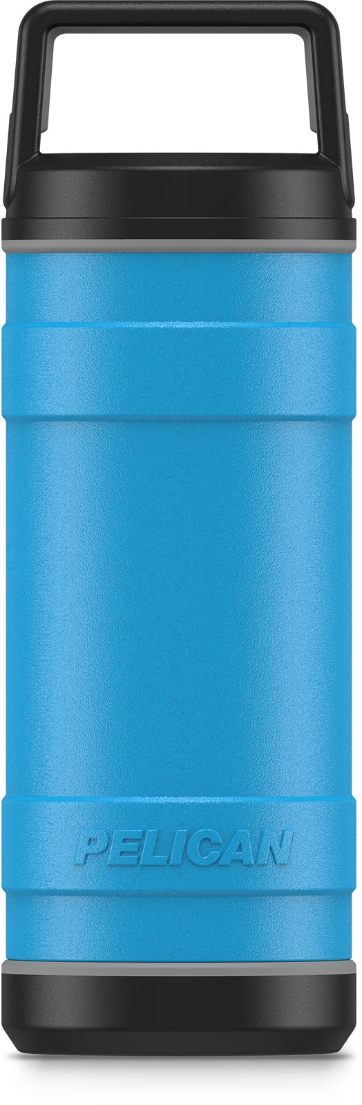 pelican 18oz stainless steel bottle blue