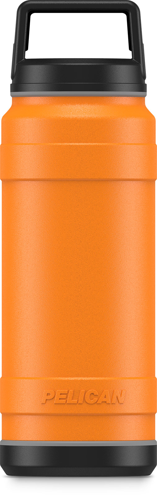 pelican 32oz orange insulated bottle