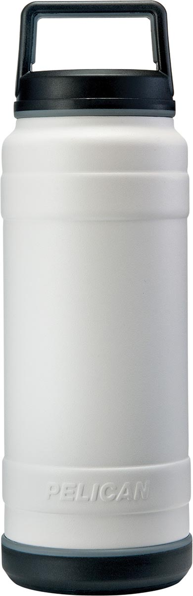buy pelican stainless steel bottle travbo32 white