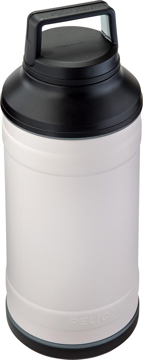shop pelican stainless steel bottle white travbo64