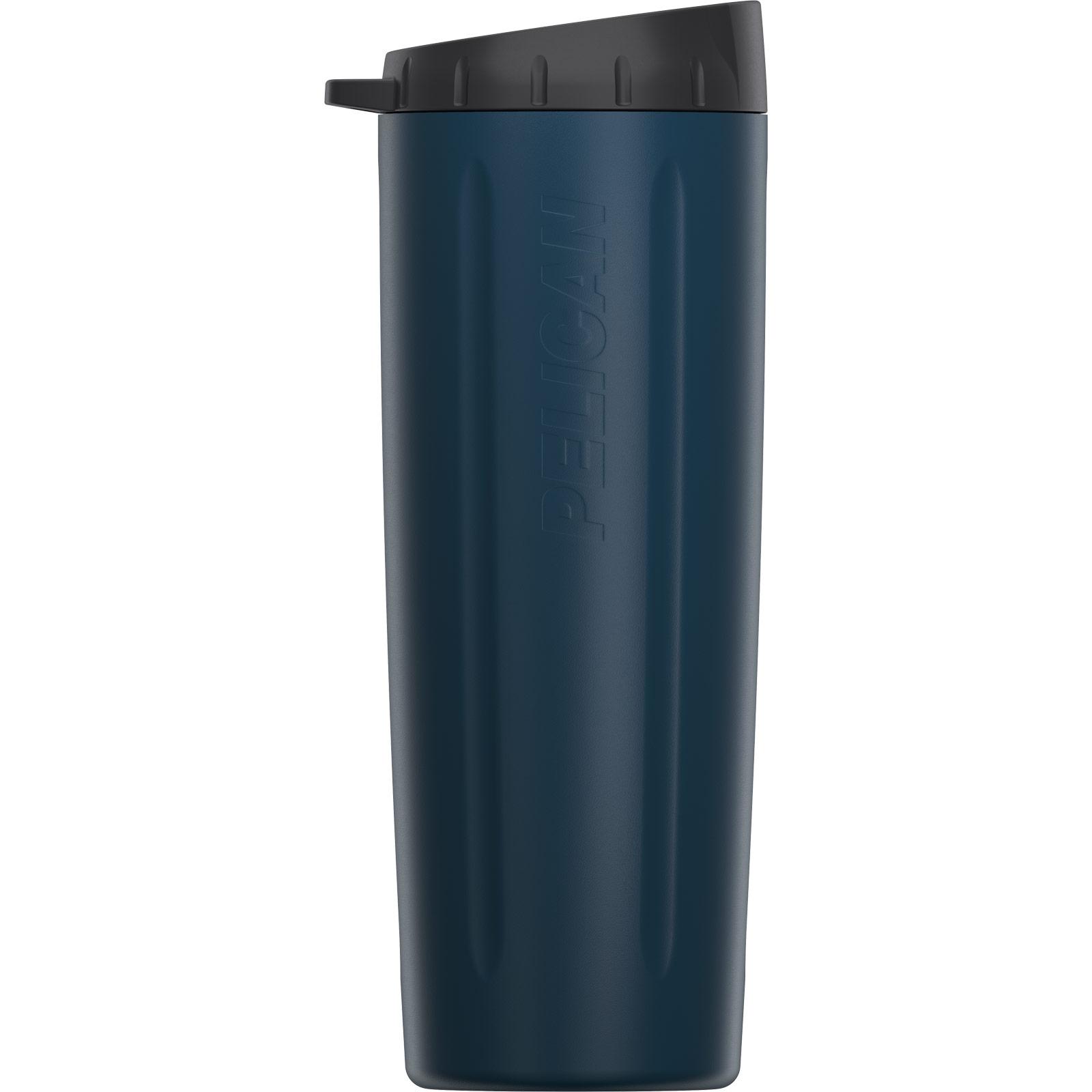 pelican blue 22oz stainless steel drink tumbler