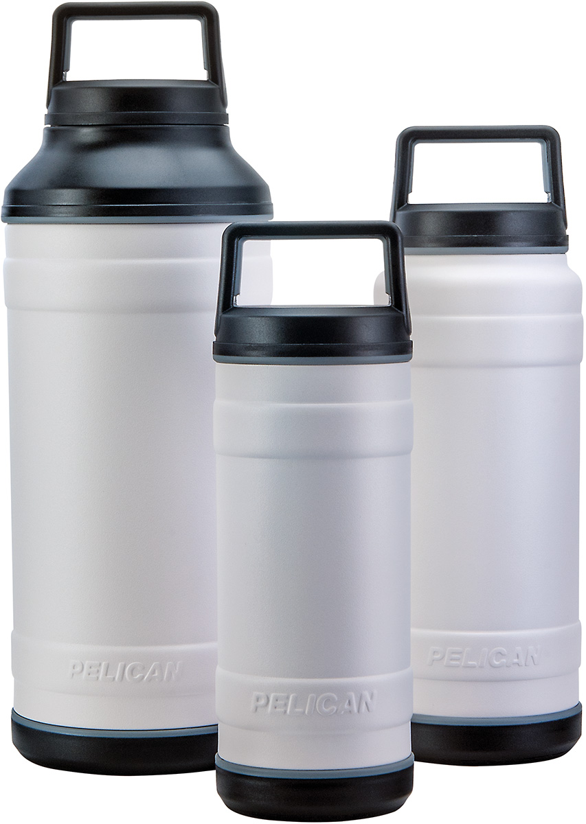 pelican white bottles insulated travel bottle