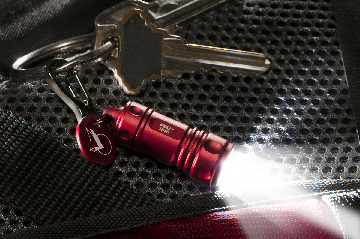 peli 1810 brightest led keychain torch
