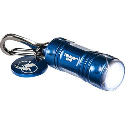 pelican 1810 blue keychain light