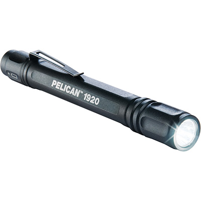 pelican 1920 lumens blue pocket led flashlight