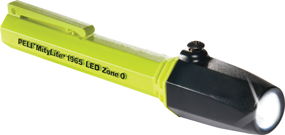peli 1965z0 zone 0 atex small pen torch