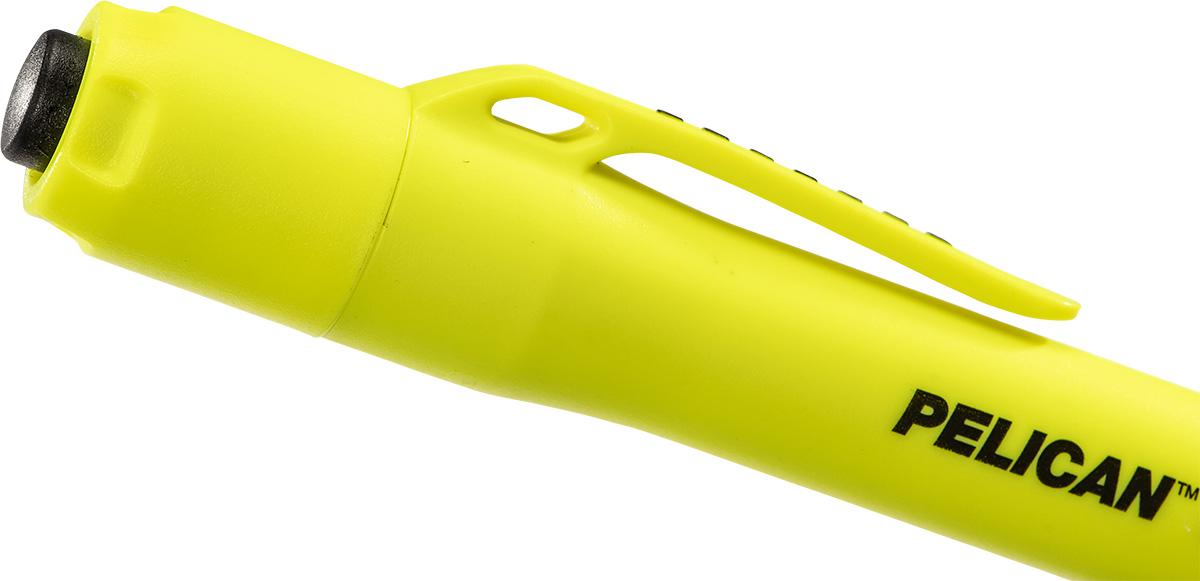 pelican 1975 button clip flashlight