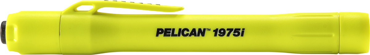 pelican 1975i yellow safety flashlight