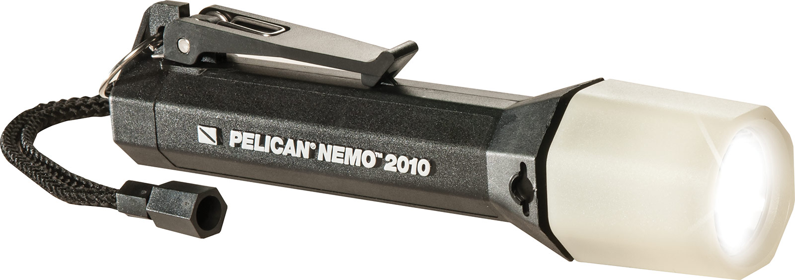 pelican 2010n nemo black led flashlight