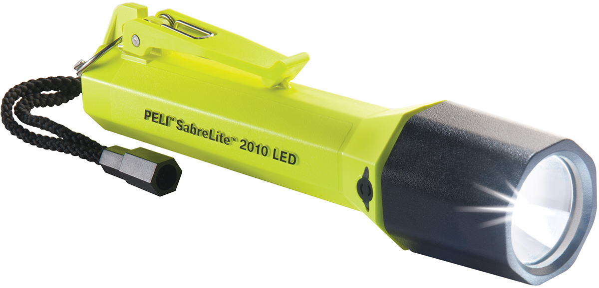 pelican peli products 2010Z0 peli light zone 0 safety approved torch