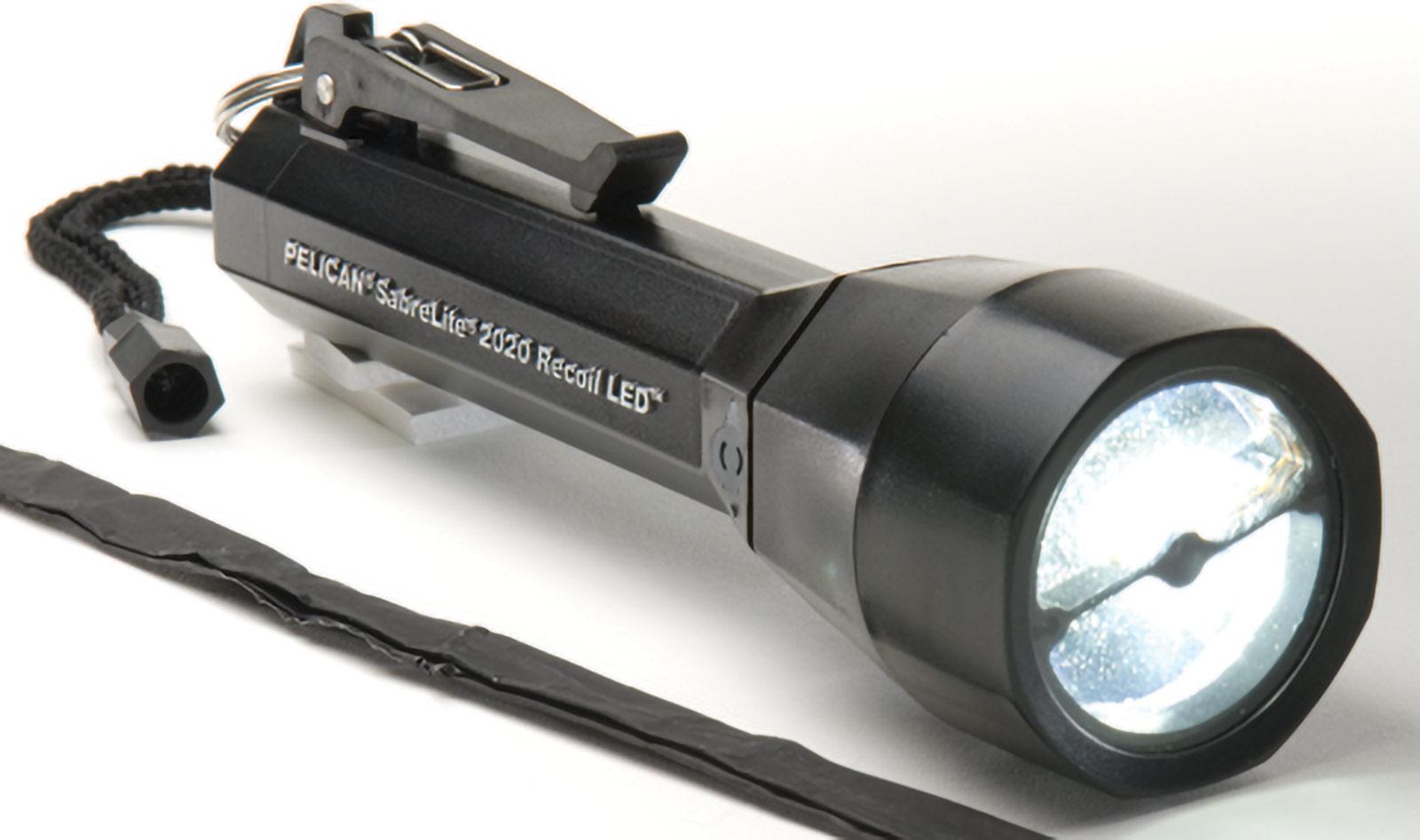 pelican 2020 regulated recoil led flashlight