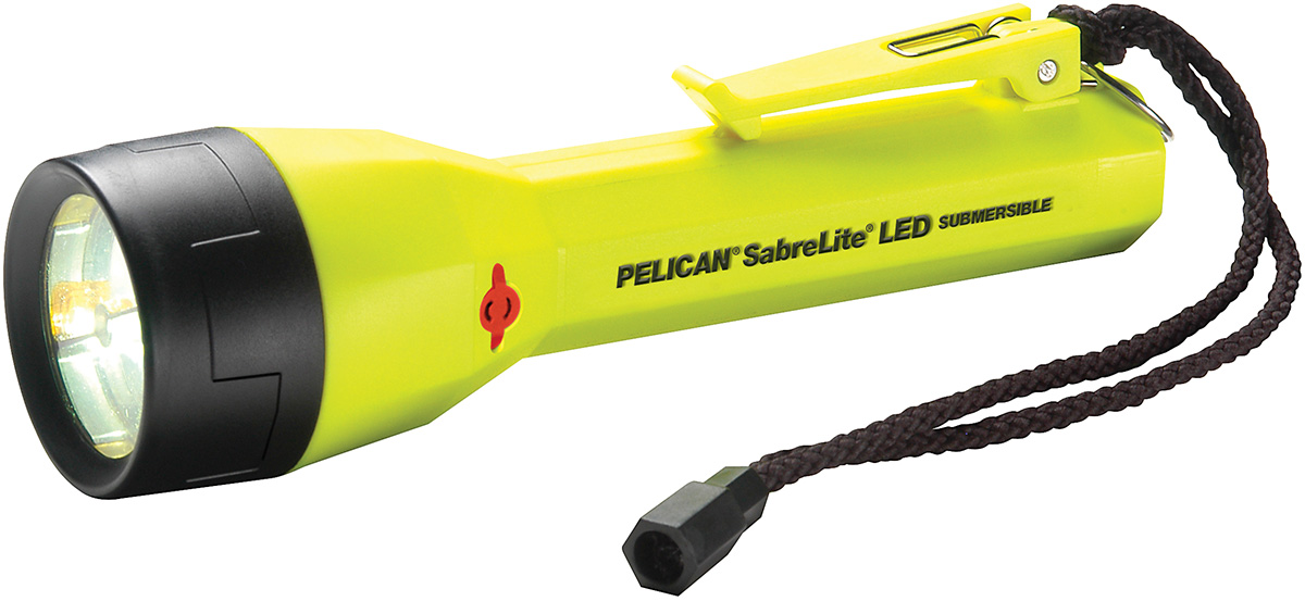 pelican 2020 bright led ip safety certified flashlight