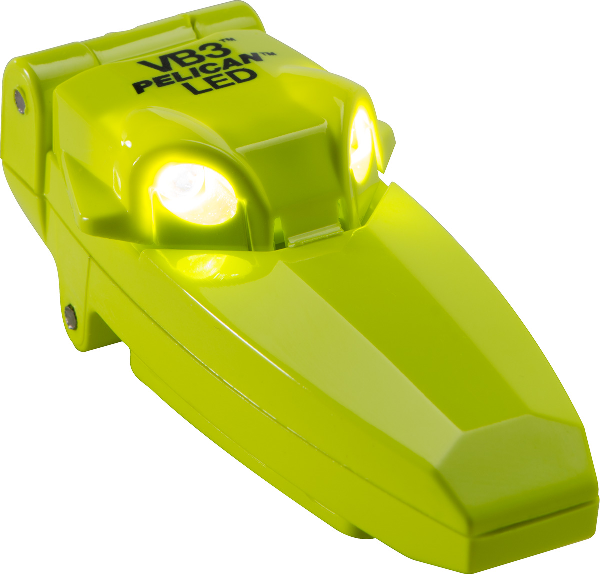 pelican 2220 best yellow clipon shirt led light