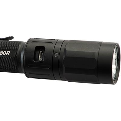 pelican 2380r usb rechargable led tactical light
