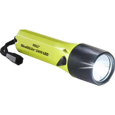 peli 2410 stealth light led safety torch