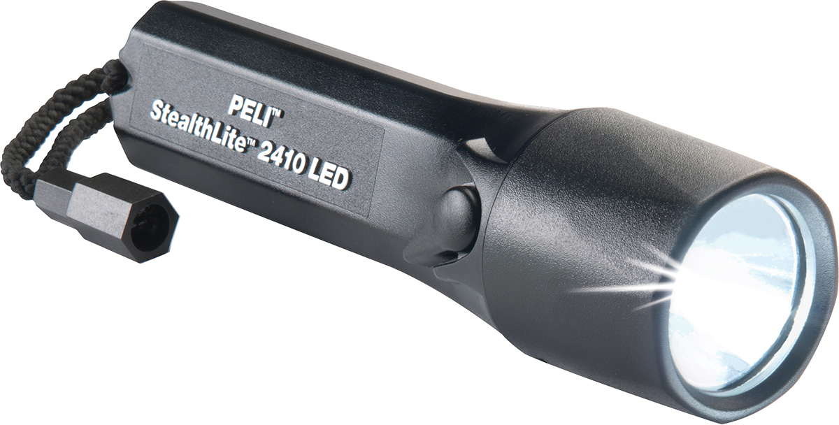 peli 2410 stealthlite super bright led torch