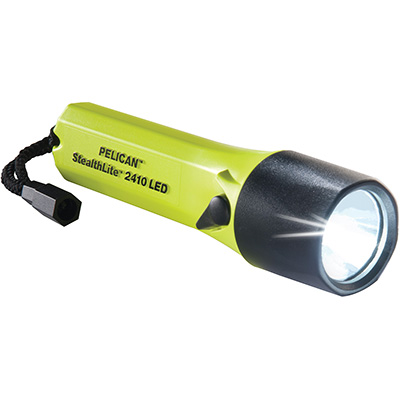 pelican 2410 waterproof led safety rated flashlight