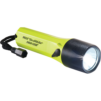 pelican 2460 led wall mount mountable flashlight