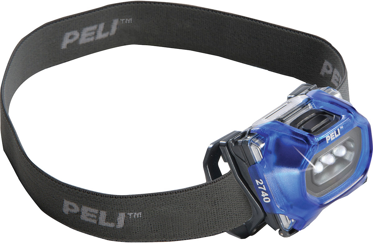 peli 2740 blue compact led headlamp