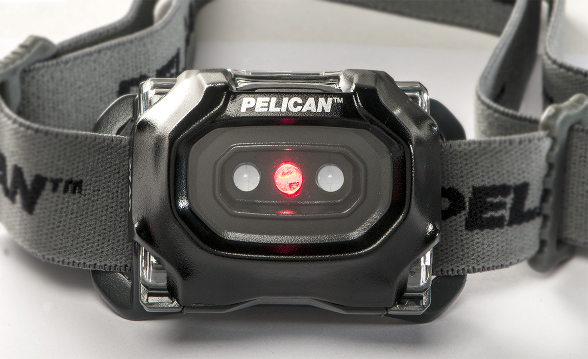 pelican brightest led red night vision headlamp