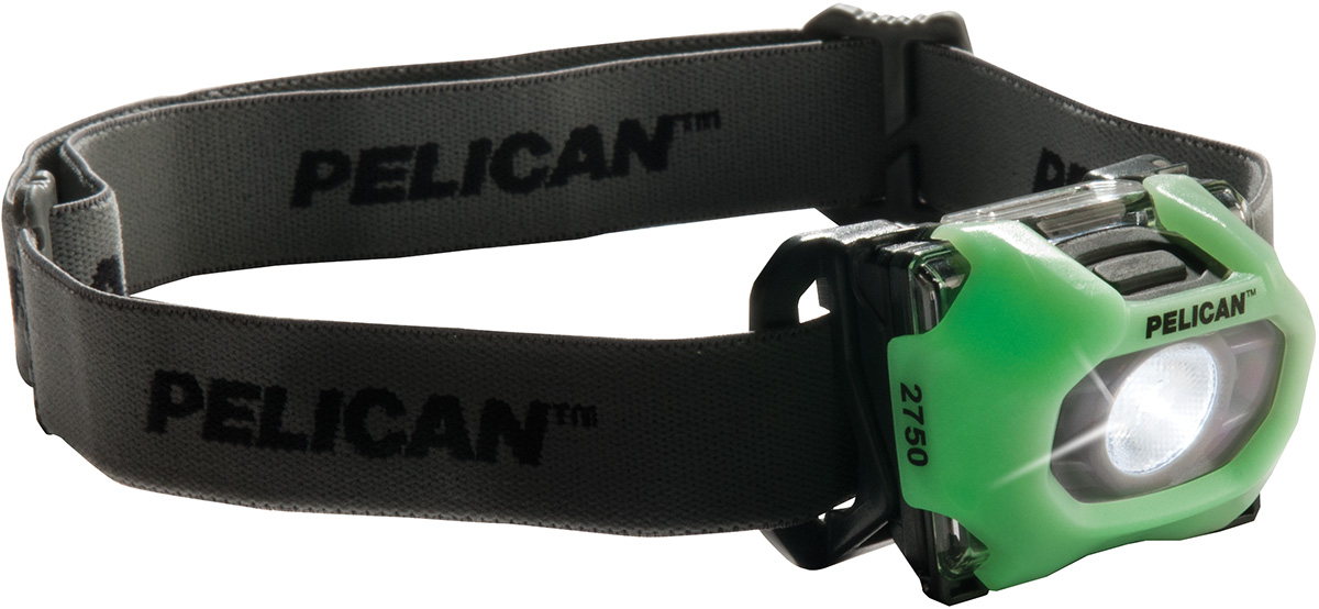 pelican 2750 glow in dark led headlamp head lamp