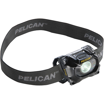 pelican super bright led spot light headlamp