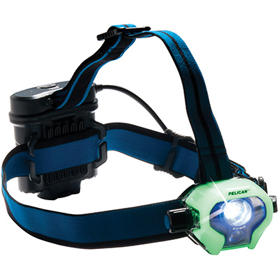pelican glow dark luminescent led headlamp
