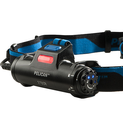 pelican 2780r bright rechargeable usb headlamp