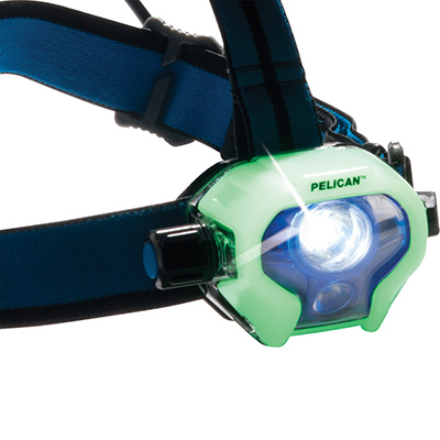 pelican 2780r glow in dark rechargeable headlamp
