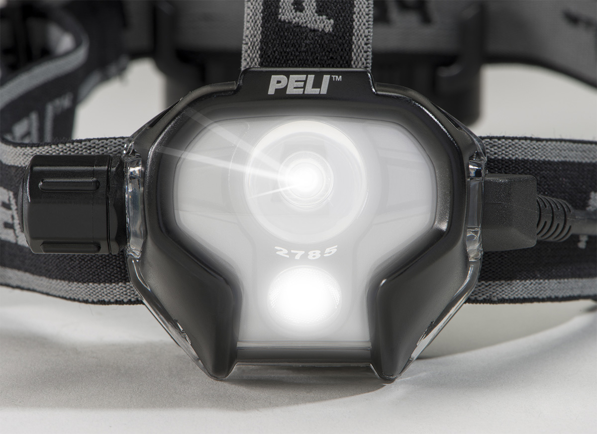 peli 2785z1 high lumens led headlamp torch