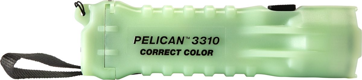 pelican 3310cc glow color flashlight
