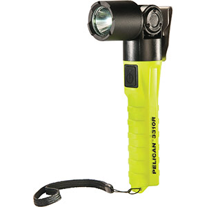 pelican 3310r-ra 3310r ra right angle rechargeable led flashlight