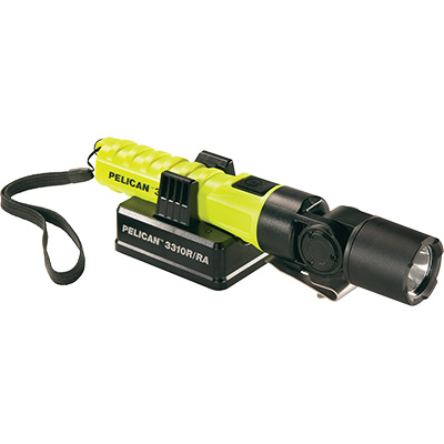 pelican 3310r-ra rechargeable flashlight led light