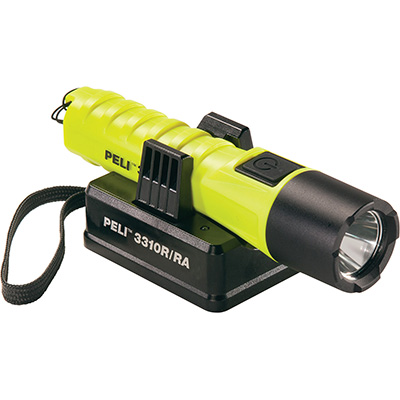 peli 3310r rechargeable flashlight led