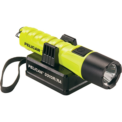 pelican 3310r rechargeable flashlight led