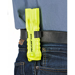 pelican 3315 belt clip yellow flashlight