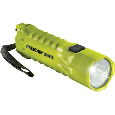 buy pelican flashlight 3315 bright yellow safety light