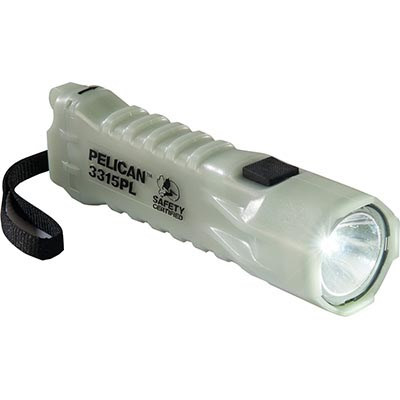 pelican 3315pl glow in dark safety flashlight