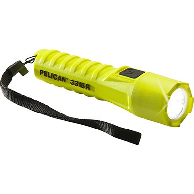 buy pelican rechargeable flashlight 3315r safety light