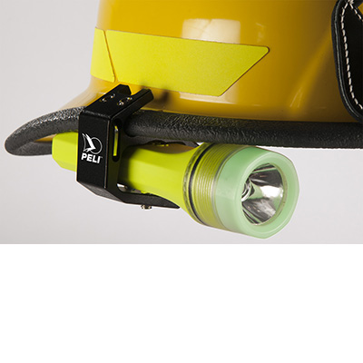 peli 3325z0 atex certified torch blackjack helmet holder