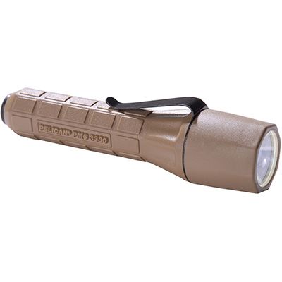 pelican 3330 tan military xenoy tactical flashlight