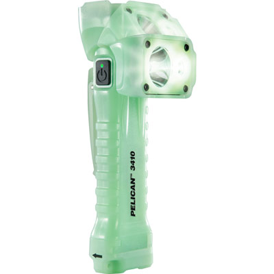 pelican 3410 glow in the dark flashlight swivel