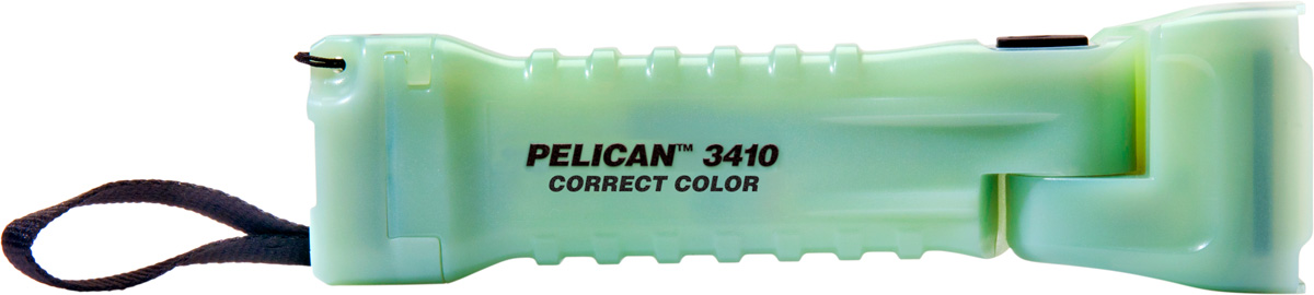 pelican 3410mcc glow color flashlight