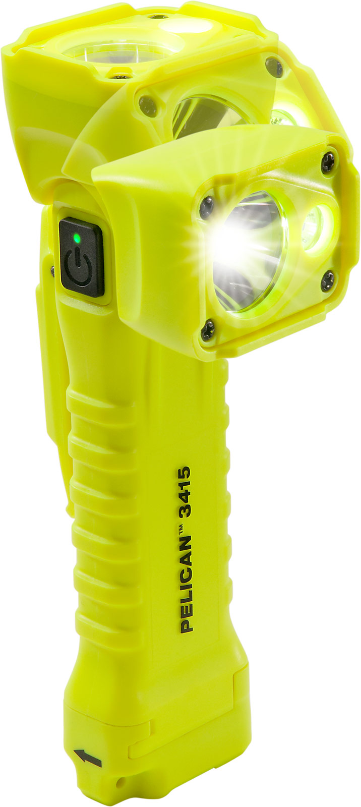 pelican 3415 safety led flashlight angle