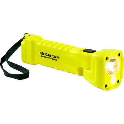 buy pelican color correct flashlight 3415mcc light strap