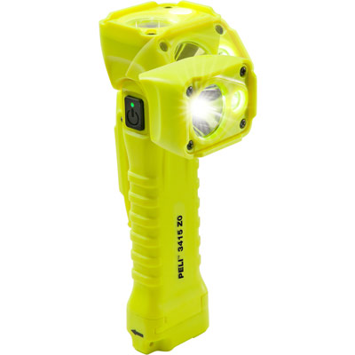 peli 3415z0 atex safety flashlight 3410z0 zone 0